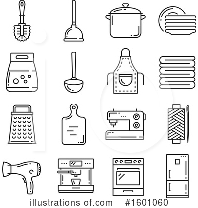 Royalty-Free (RF) Icon Clipart Illustration by Vector Tradition SM - Stock Sample #1601060
