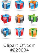 Royalty-Free (RF) icon Clipart Illustration #229234