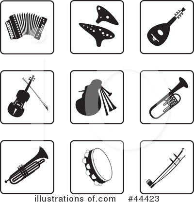 Music Clipart #44423 by Frisko