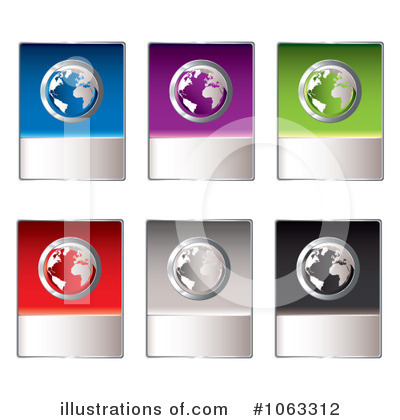 Globe Clipart #1063312 by michaeltravers