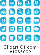 Royalty-Free (RF) icons Clipart Illustration #1066092