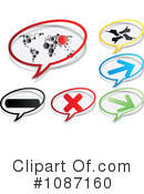 Royalty-Free (RF) Icons Clipart Illustration #1087160