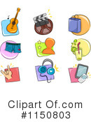 Royalty-Free (RF) icons Clipart Illustration #1150803
