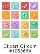 Icons Clipart #1258664 by AtStockIllustration