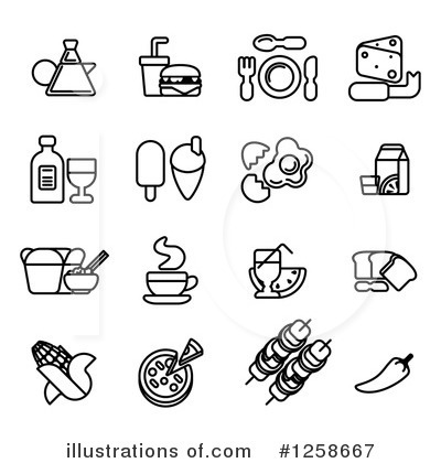 Plate Clipart #1258667 by AtStockIllustration