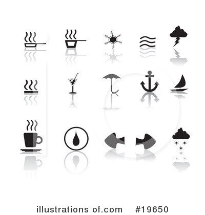 Royalty-Free (RF) Icons Clipart Illustration by Rasmussen Images - Stock Sample #19650