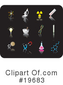 Royalty-Free (RF) icons Clipart Illustration #19683