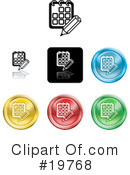 Icons Clipart #19768 by AtStockIllustration