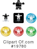 Icons Clipart #19780 by AtStockIllustration