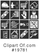 Icons Clipart #19781 by AtStockIllustration