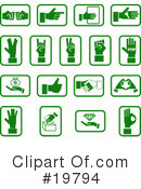 Icons Clipart #19794 by AtStockIllustration
