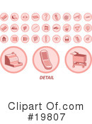 Icons Clipart #19807 by AtStockIllustration