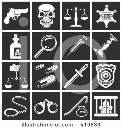 Scales Of Justice Clipart #19836 by AtStockIllustration