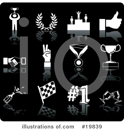 Winner Clipart #19839 by AtStockIllustration