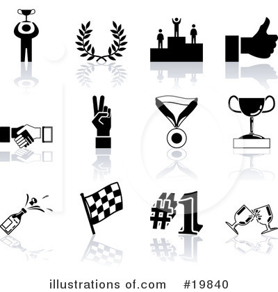 Handshake Clipart #19840 by AtStockIllustration