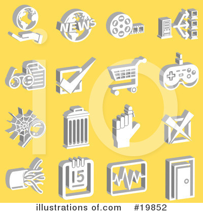 Calendar Clipart #19852 by AtStockIllustration