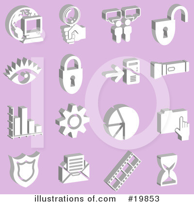 Files Clipart #19853 by AtStockIllustration