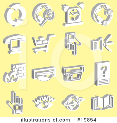 Alarm Clock Clipart #19854 by AtStockIllustration