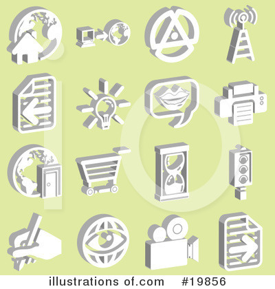 Light Bulb Clipart #19856 by AtStockIllustration