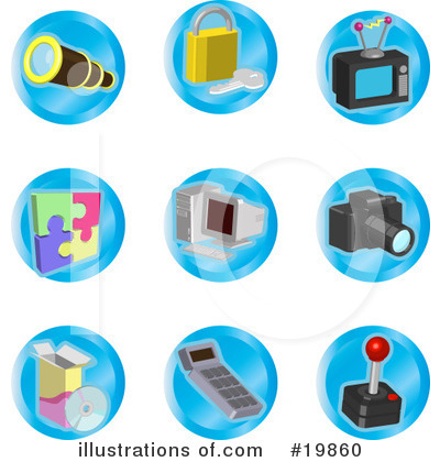 Puzzle Clipart #19860 by AtStockIllustration