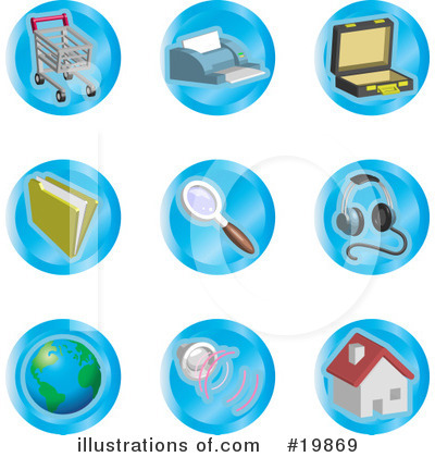 Files Clipart #19869 by AtStockIllustration