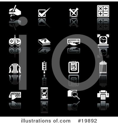 Check Mark Clipart #19892 by AtStockIllustration