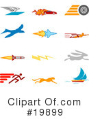 Royalty-Free (RF) icons Clipart Illustration #19899