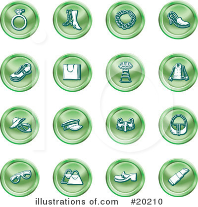 Rings Clipart #20210 by AtStockIllustration