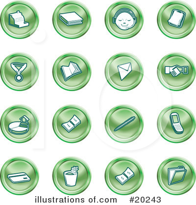 Files Clipart #20243 by AtStockIllustration