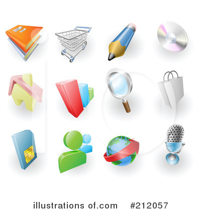 Book Clipart #212057 by AtStockIllustration