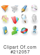 Royalty-Free (RF) icons Clipart Illustration #212057
