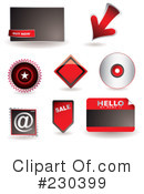 Royalty-Free (RF) Icons Clipart Illustration #230399