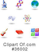 Icons Clipart #36002 by AtStockIllustration