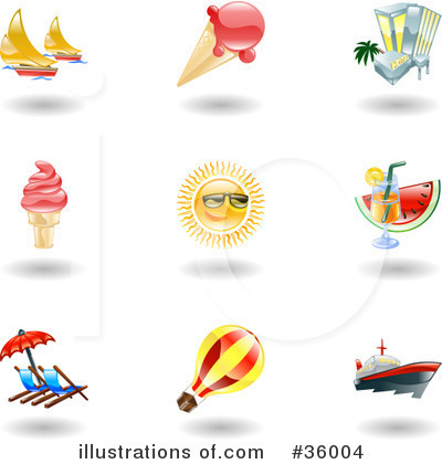 Sailboat Clipart #36004 by AtStockIllustration