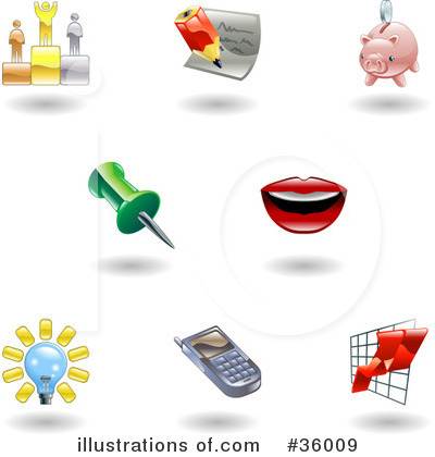 Mouth Clipart #36009 by AtStockIllustration