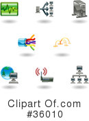 Icons Clipart #36010 by AtStockIllustration