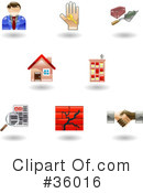 Icons Clipart #36016 by AtStockIllustration