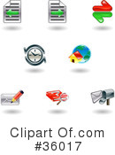 Icons Clipart #36017 by AtStockIllustration