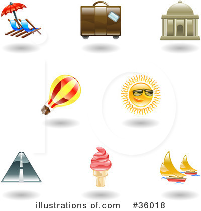 Sailboat Clipart #36018 by AtStockIllustration