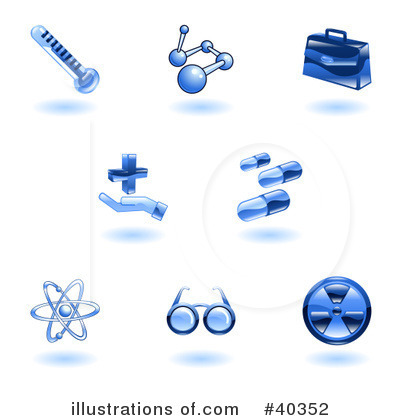 Objects Clipart #40352 by AtStockIllustration