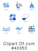 Icons Clipart #40353 by AtStockIllustration