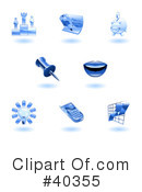 Icons Clipart #40355 by AtStockIllustration