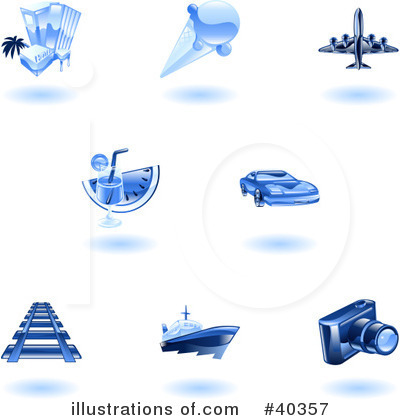 Yacht Clipart #40357 by AtStockIllustration