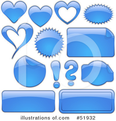 Royalty-Free (RF) Icons Clipart Illustration by dero - Stock Sample #51932