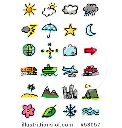 Icons Clipart #58057 by NL shop