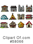 Royalty-Free (RF) icons Clipart Illustration #58066