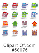 Royalty-Free (RF) icons Clipart Illustration #58076