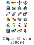 Icons Clipart #58094 by NL shop