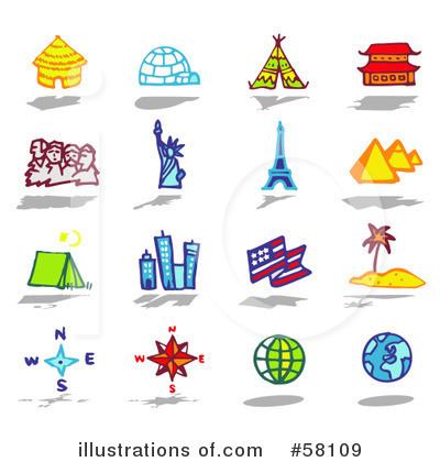 Pyramids Clipart #58109 by NL shop