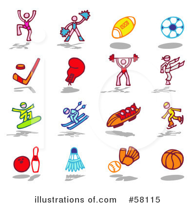 Sports Clipart #58115 by NL shop